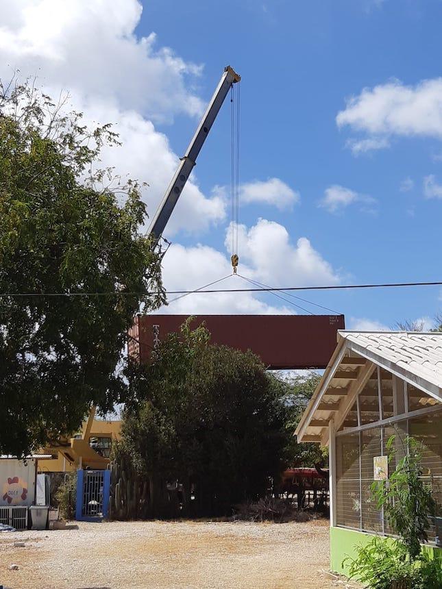 dierenasiel RMD Bouw Bonaire