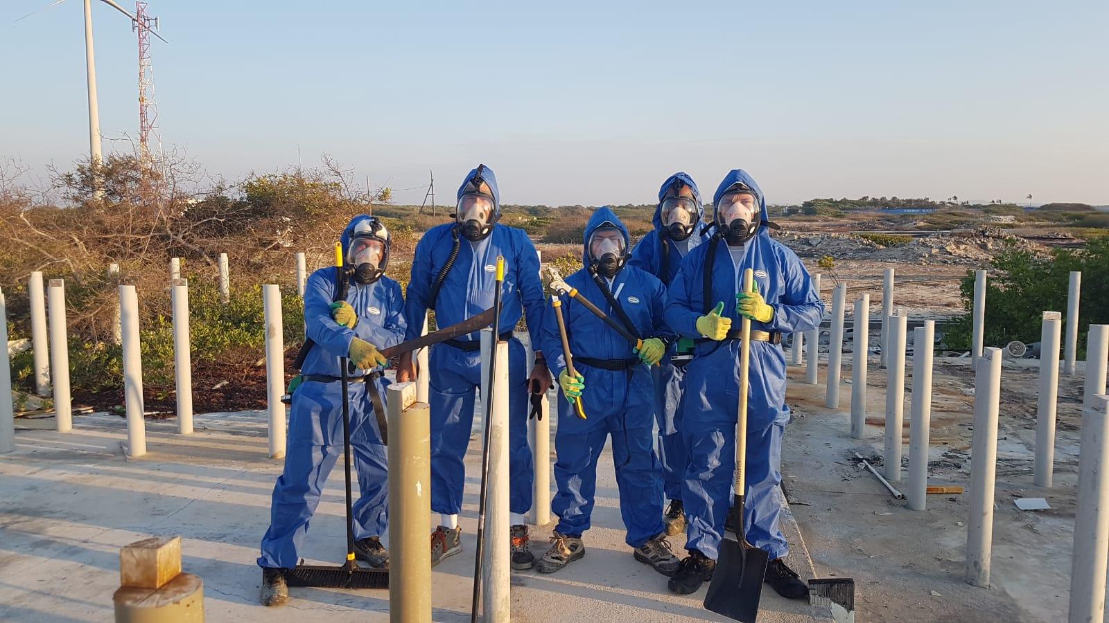 Marcultura Asbestsanering door RMD Bouw Beheer Bonaire